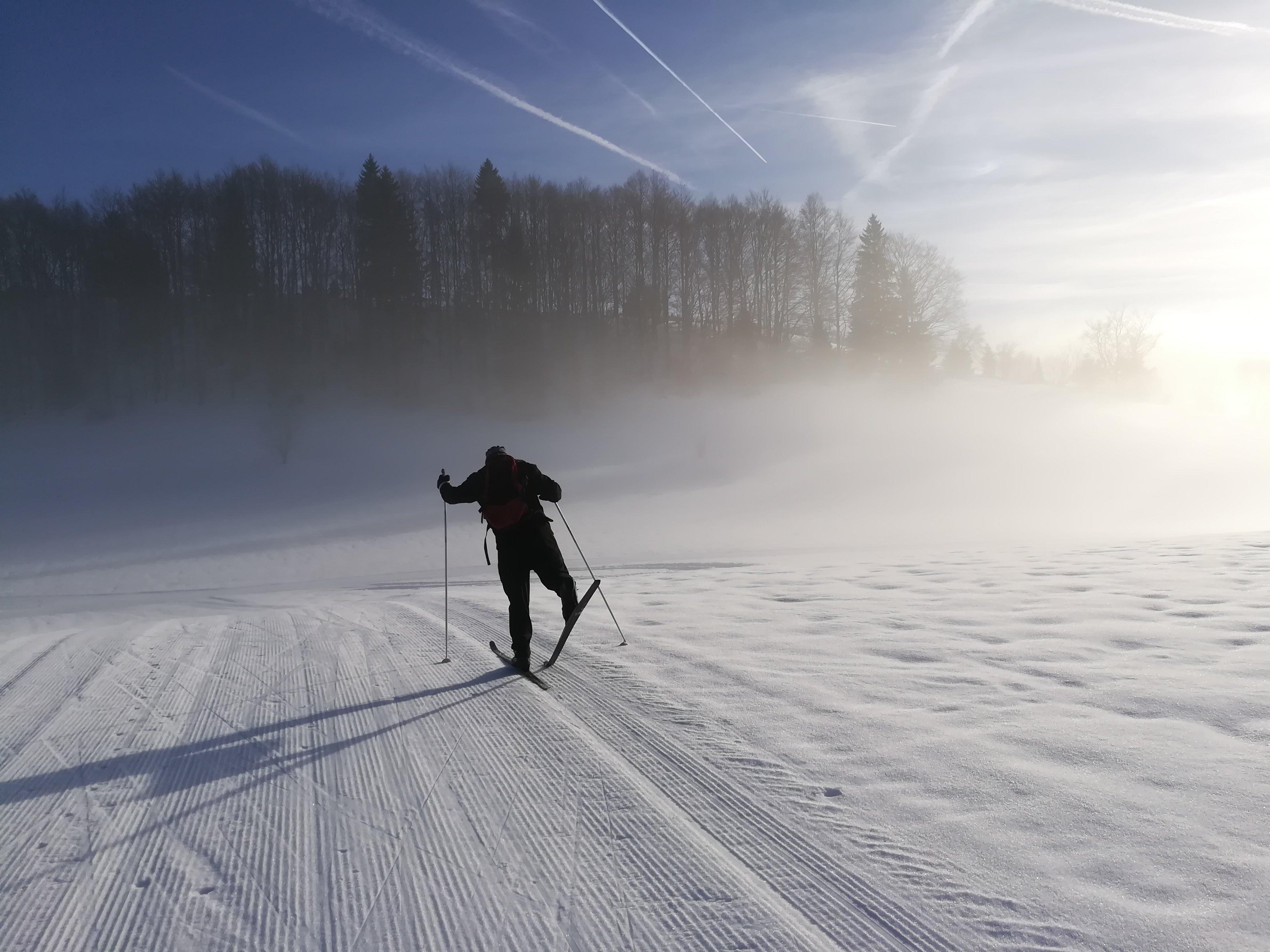 Ski de fond - Gîte Haut Jura