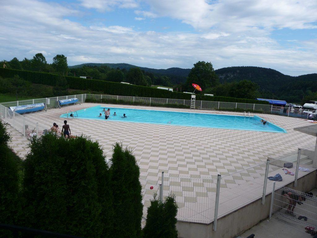 piscine chauffé